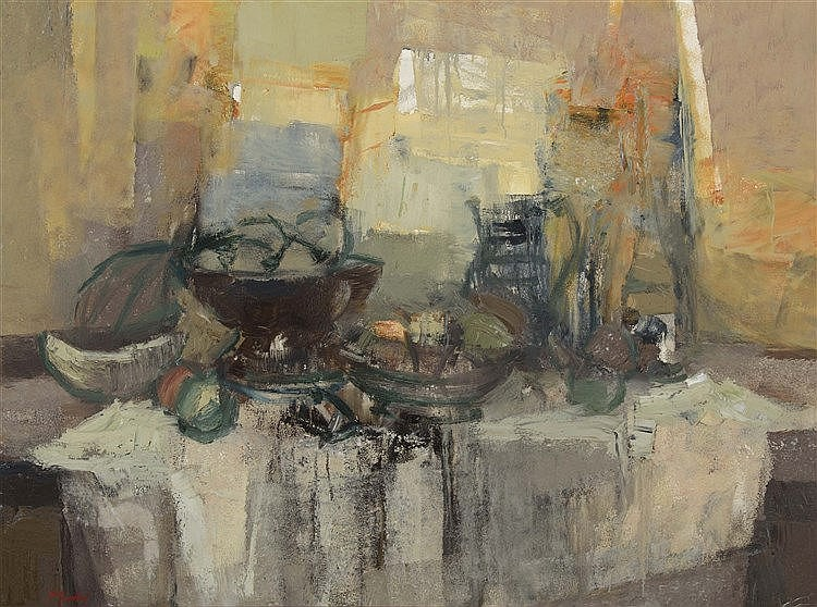 RAMON PUIG BENLLOCH (Valencia, 1929-2015) Still Life