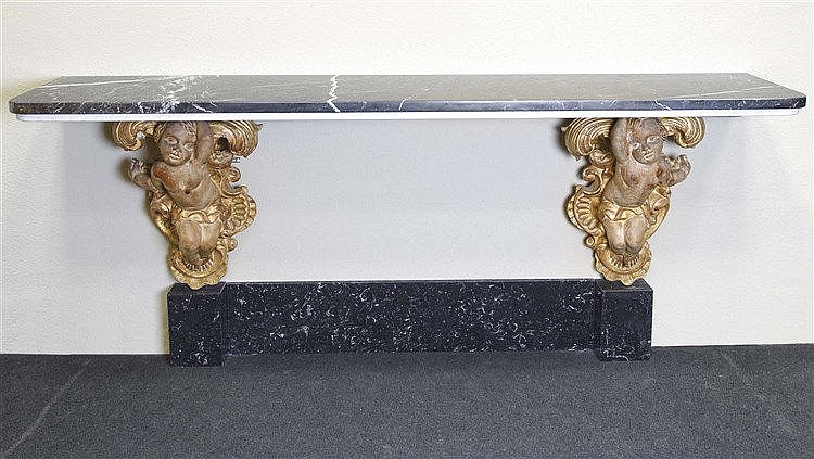 RAFAEL GARCIA DESIGN CONSOLE TABLE, CIRCA 1950