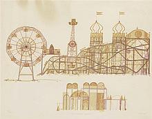 FRANCESC TODÓ (Tortosa, Baix Ebre, 1922) Montjuic Amusement Park