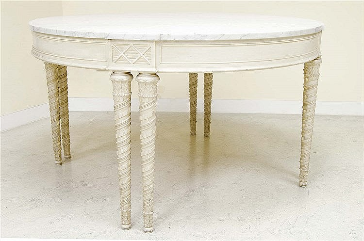 LOUIS XVI STYLE DINING TABLE