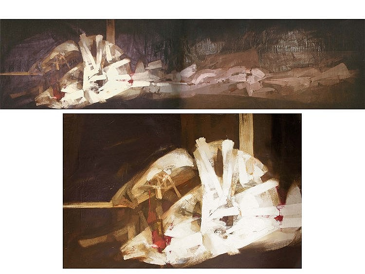 ALFONSO FRAILE (Marchena, 1930-Madrid, 1988) Abstracción