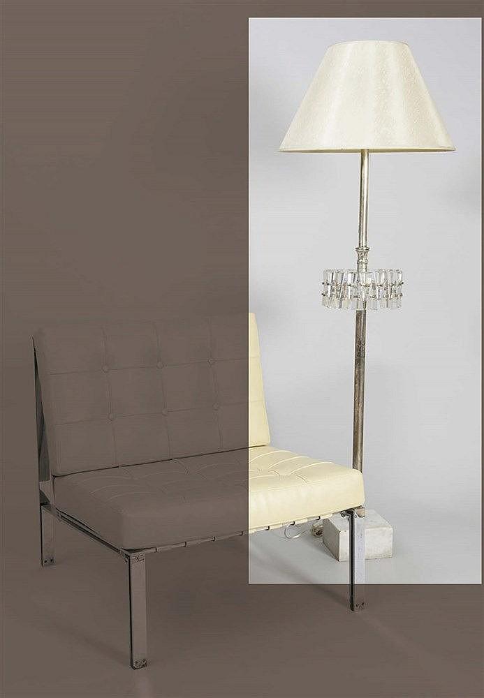 RAFAEL GARCIA DESIGN FLOOR LAMP, CIRCA 1950