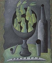 ANTONIO SANTOS (Lupiñén, Huesca, 1955) Still Life with Pears
