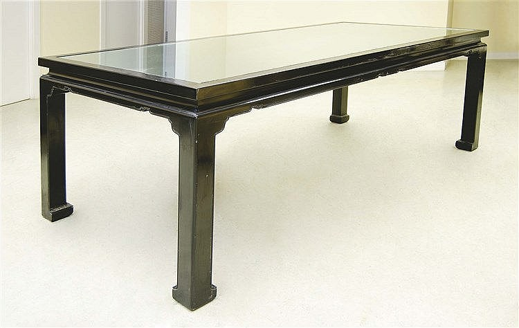 RAFAEL GARCIA DESIGN DINING TABLE, CIRCA 1980