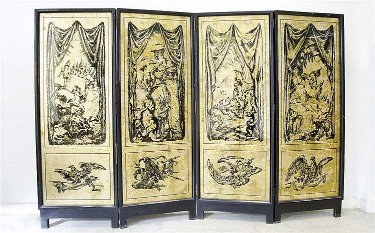 AFTER JOSE MARIA SERT DESIGN FOLDING SCREEN
