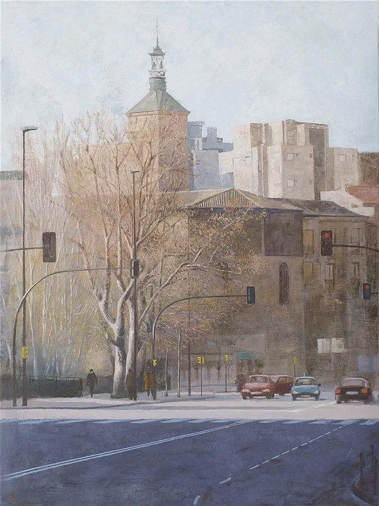 HARUHITO OTA (1950) Segovia Cathedral