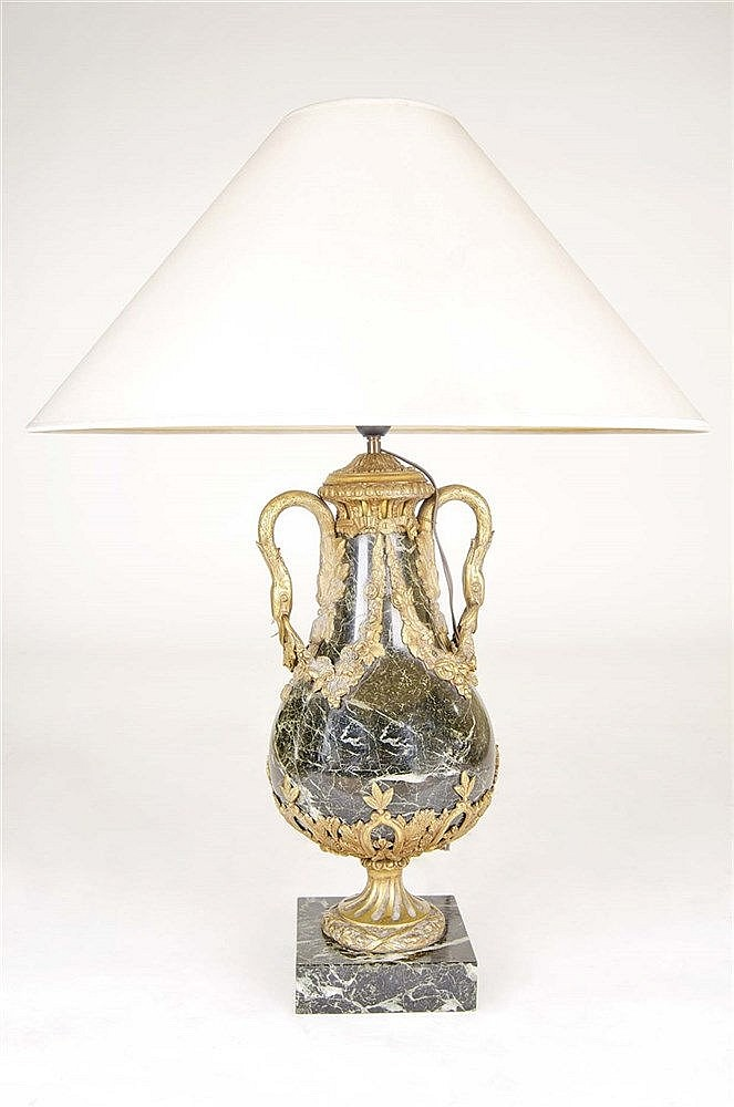 A FRENCH TABLE LAMP
