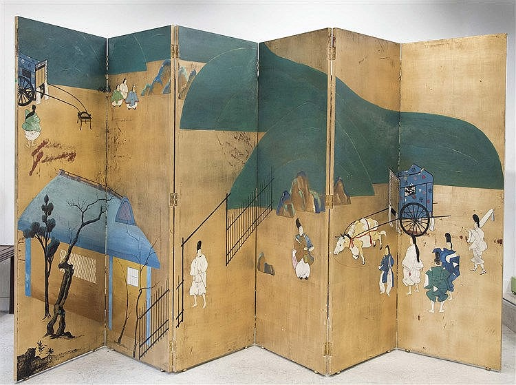 JOSE Mª ARNALL CARBONELL FOLDING SCREEN, 1950