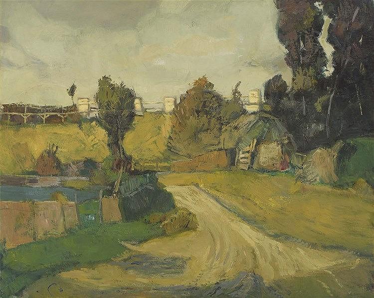 SERVANDO CORRALES (1952) Landscape