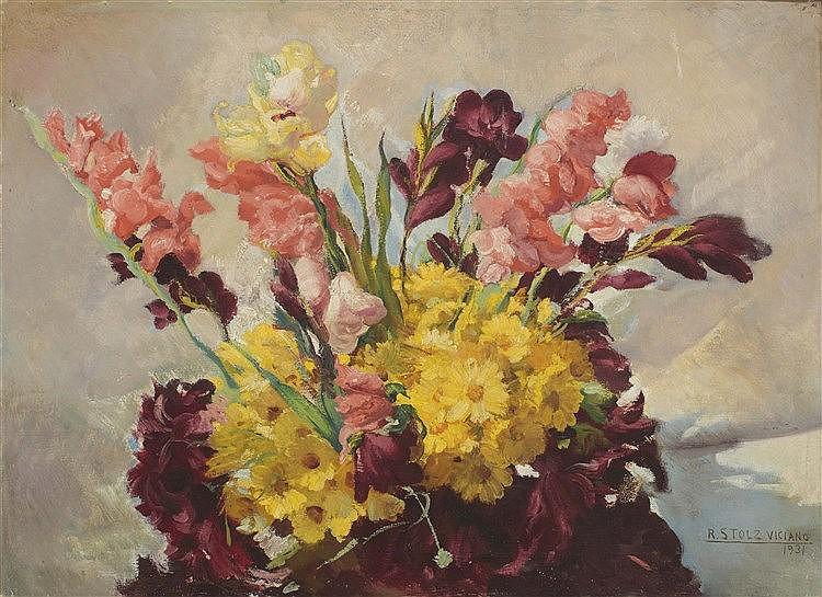 RAMON STOLZ VICIANO (Valencia, 1903-1958) Flowers