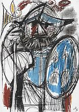 ÁLVARO DELGADO (Madrid, 1922-2016) Un orbe nuevo