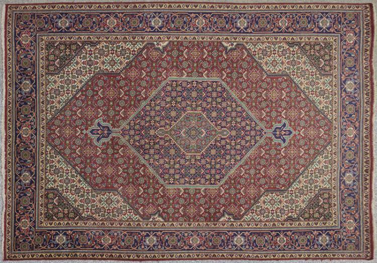 Alfombra persa a persian carpet for Alfombra persa azul