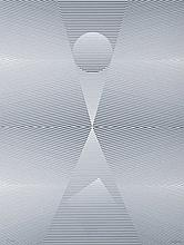 EUSEBIO SEMPERE (Onil, Alicante, 1923 - 1985) El espacio. Silk Screen Printing