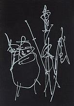ANTONIO SAURA (Huesca,1930-Cuenca,1998) Quijote I. Silk Screen Printing