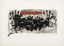 ANTONI TAPIES (Barcelona, 1923 - 2012) Cartas a Maria teresa. Lithograph