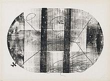 ANTONI TAPIES (Barcelona,1923-2012) Xilo oval. Woodcut