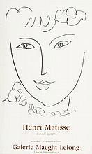 MADAME POMPADOUR. After Henri Matisse. Original exhibition poster