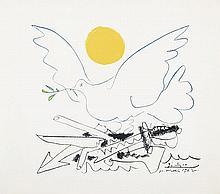 PABLO PICASSO (1881-1973) Colombe de l'avenir. Lithograph