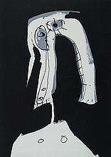 ANTONIO SAURA (Huesca, 1930 - Cuenca, 1998) J'ai bien souvent remarqué que j'ai mal à la tête (...). Silk Screen Printing