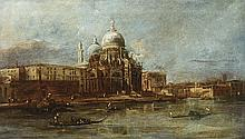 VENETIAN SCHOOL, 18TH CENTURY Santa Maria della Salute. Oil on canvas