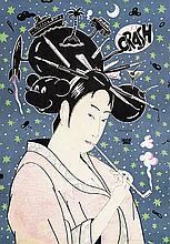FERNANDO BELLVER (Madrid, 1954) Geishas. A Pair of Silk Screen Printings
