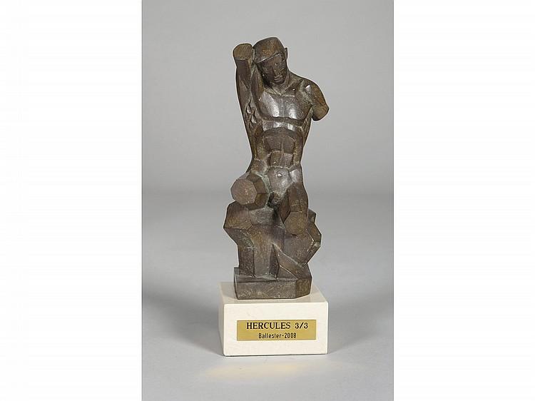 ANTONIO BALLESTER (Valencia, 1911-2001) Hercules. A bronze figure