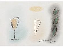 ALBERT RAFOLS CASAMADA (Barcelona, ??1923 - 2009) Untitled. Waxes on card