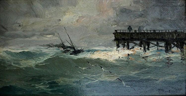 RICARDO MANZANET (Valencia, 1852-1931).