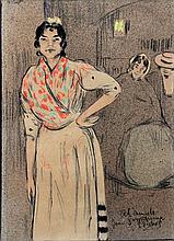 RAMON PICHOT GIRONÈS (Barcelona, 1871-París,