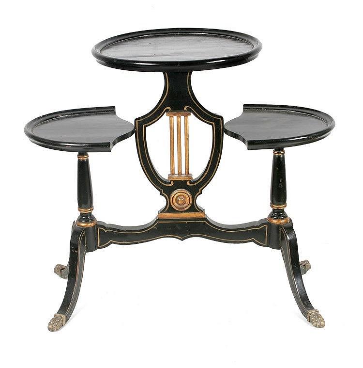 19th CENTURY NAPOLEON III PERIOD 'GUERIDON' TABLE