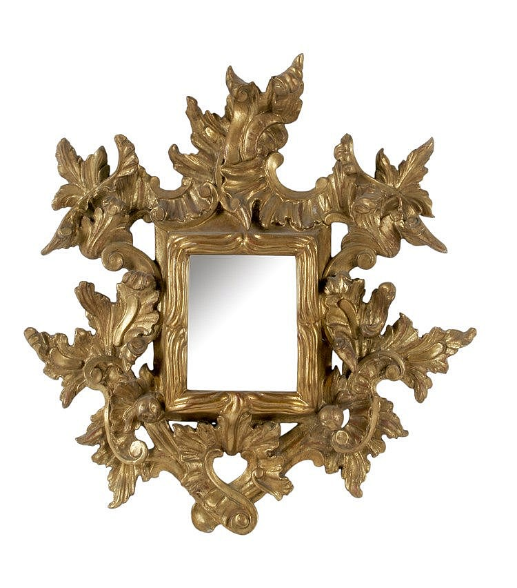 18th CENTURY BAROQUE MIRROR CORNUCOPIA