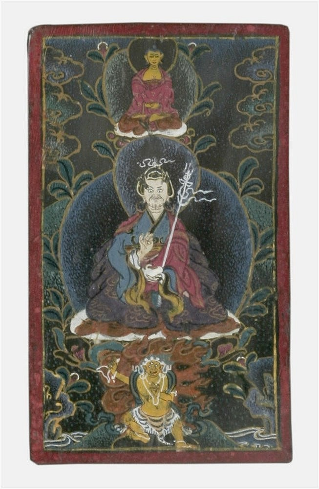 20th CENTURY TIBETAN MINIATURE