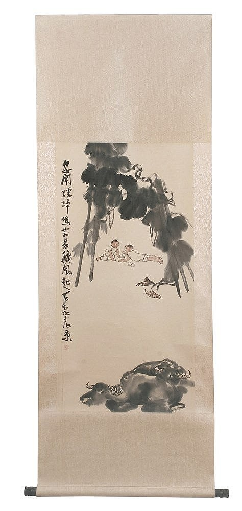 20th CENTURY CHINESE SCROLL