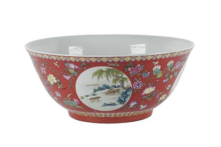 LATE 19th CENTURY-EARLY 20th. CENTURY CHINESE BOWL