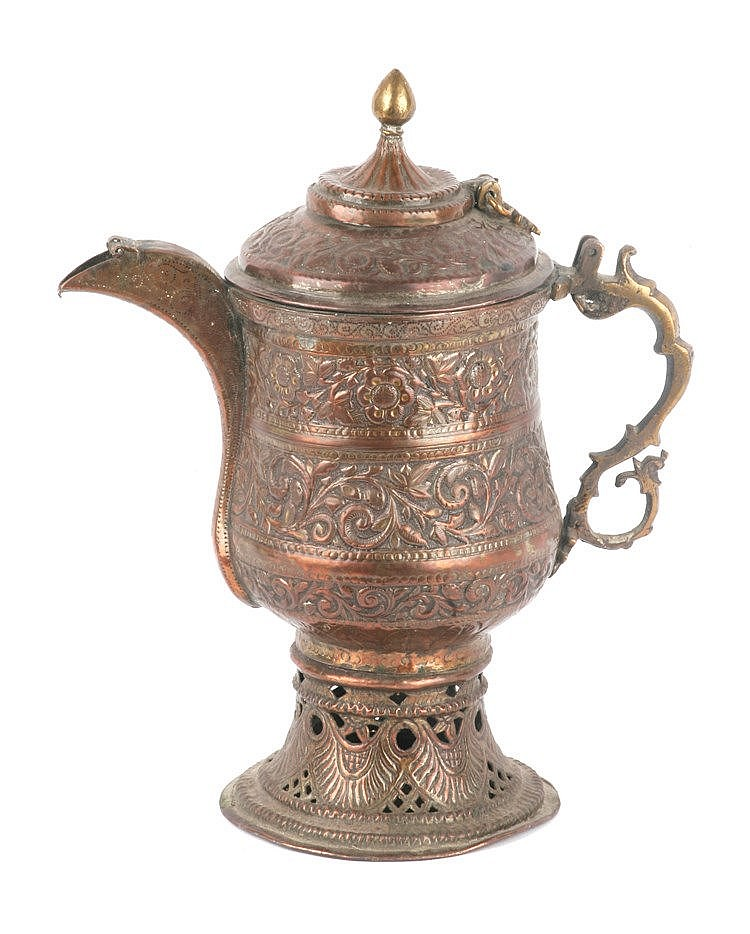 18th-19th CENTURIES SAMOVAR FROM KASHMIR