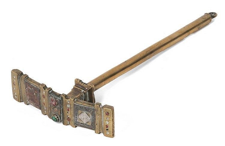 19th CENTURY JEWELER'S HAMMER