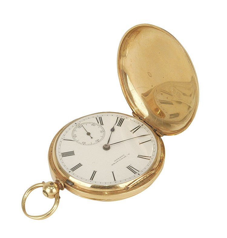 FRENCH SABONETA POCKET WATCH CIRCA 1900