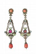 LATE 19th CENTURY EARRINGS