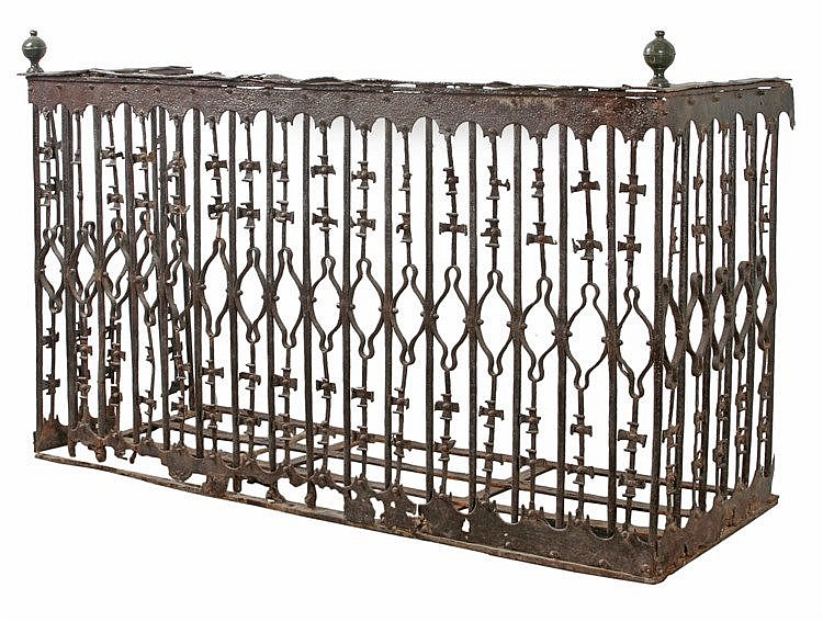 16th CENTURY IRON BALCONY FROM TOLEDO