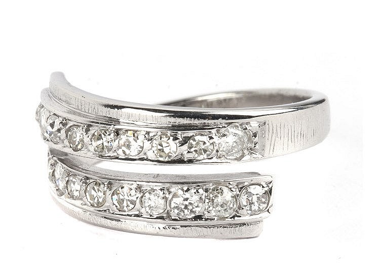 DOUBLE HALF-ETERNITY RING
