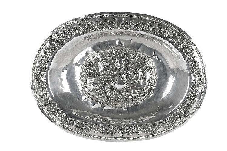 LATE 19th CENTURY 'MASRIERA AND CARRERAS' TRAY