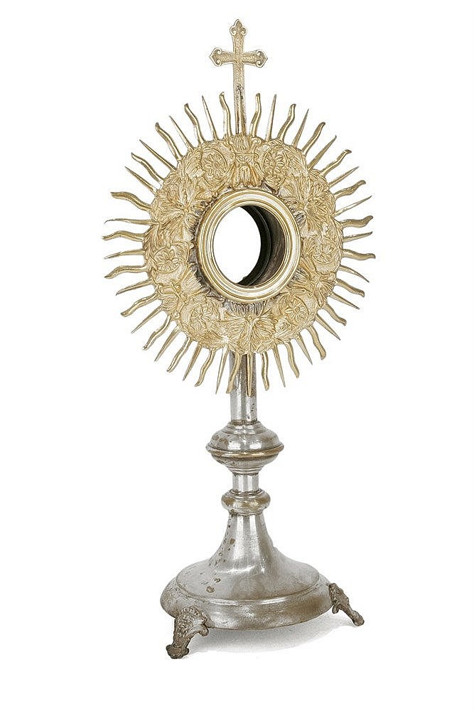 19th CENTURY MONSTRANCE