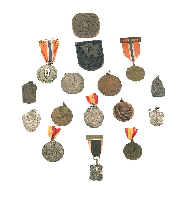 FRANCO'S MILITARY PERIOD SPORTIVE MEDALS COLLECTION