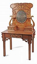 EARLY 20th CENTURY CATALAN ART NOVEAU DRESSING TABLE