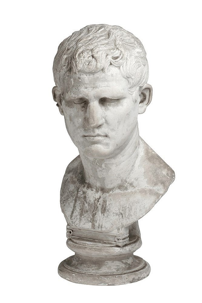 FIRST HALF OF 20th CENTURY BUST