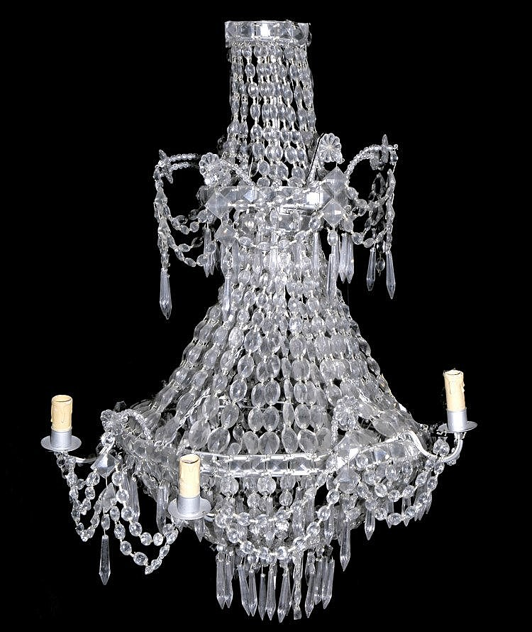 19th CENTURY CATALAN CHANDELIER