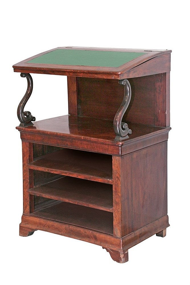 FIRST QUARTER OF 19th CENTURY CHARLES X PERIOD WRITING DESK