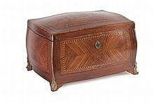 LATE 19th CENTURY FRENCH CABINET FOR SEWING KIT
