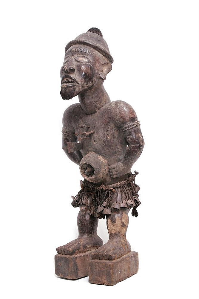 FIRST HALF OF 20th CENTURY, AFRICAN FETISH FIGURE, CONGO