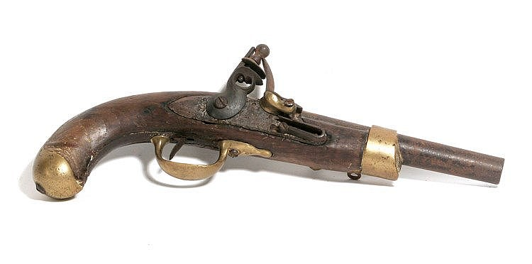 EARLY 19th CENTURY FRENCH MXIII CAVALRY PISTOL